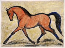 Equestrian Watercolour